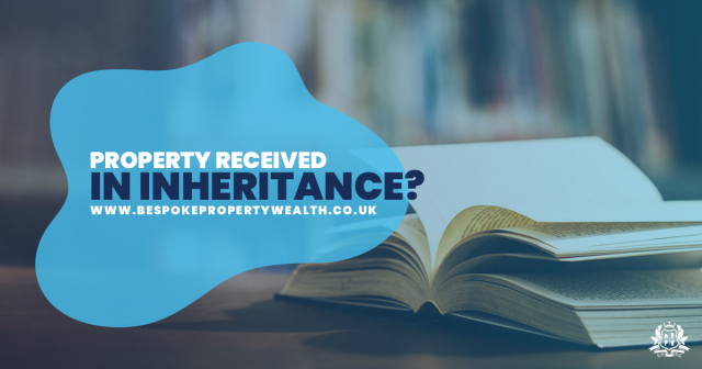 Property received in an inheriance?